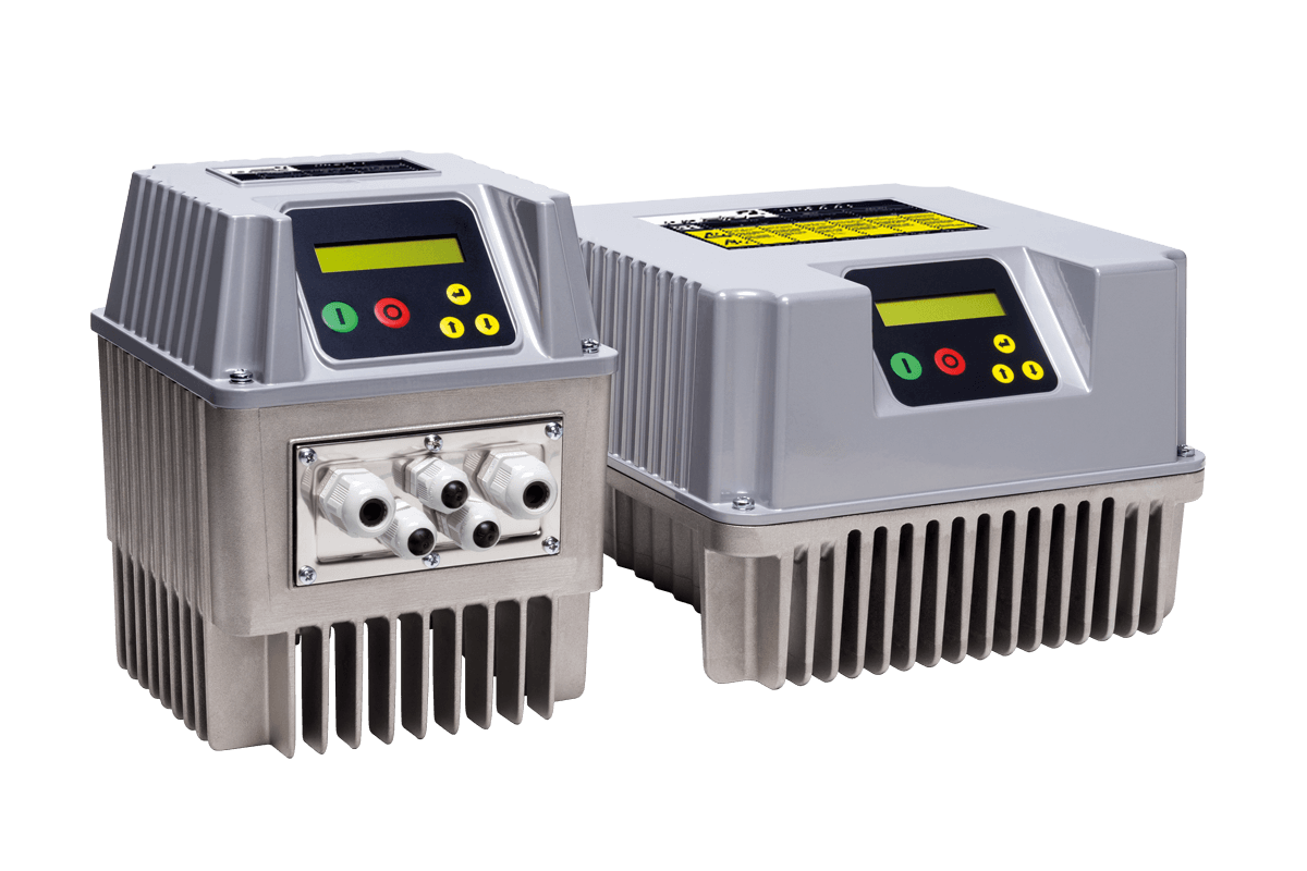 Variable speed controller for pumps